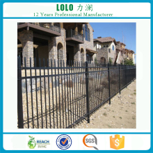 High Quality Durable And Strength Euro Zinc Steel Walls Fence For Villas