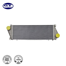 Hot sale Silver Engine Cooling System Aluminum High Quality Intercooler for Car