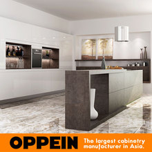 OPPEIN contractor one-stop solution service fitted china kitchen cabinet