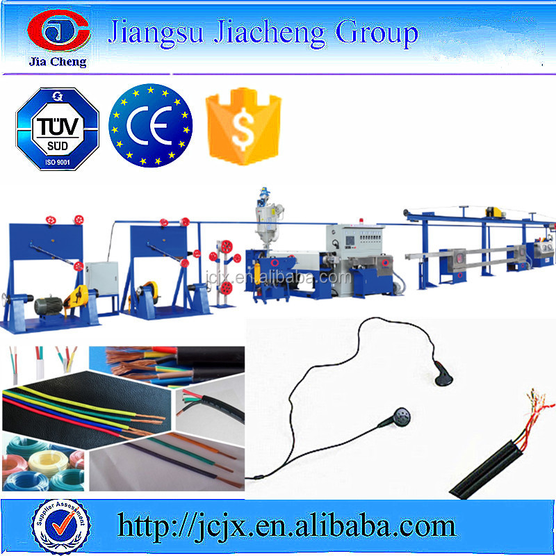 Telephone/earphone Wire Cable Insulation Extrusion Machine