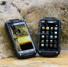 "2014 Cheap Waterproof Smart Phone rugged with 4.0"" IPS Dual Core 800*480P 1.2GHz 4GB ROM 2800mAh V8 Rugged SmartPhone"