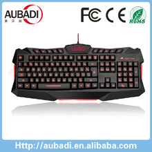 Professional USB Wired Ergonomic Multimedia Computer gaming Keyboard Gamer