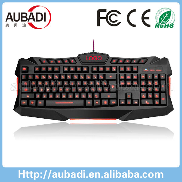 Professional USB Wired Ergonomic Multimedia Keyboard Gamer