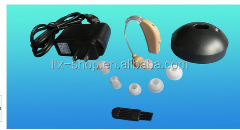rechargeable hearing aid BTE pocket size hearing aid with competitive price and fast delivery sound amplifier