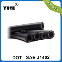saej1402 rubber hose 3/8 inch trailer coil air hoses with dot approved