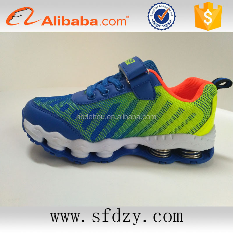 Fashion Mesh upper air kids sports shoes child shoe from china shoe factory