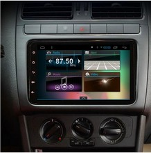 Quad core 2 din android 4.4 8 inch 2 din touch screen <strong>car</strong> <strong>DVD</strong> to Volkswagen Skoda Octavia Golf Passat MultivanT5 transporter 200