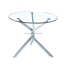 High quality round glass altar table
