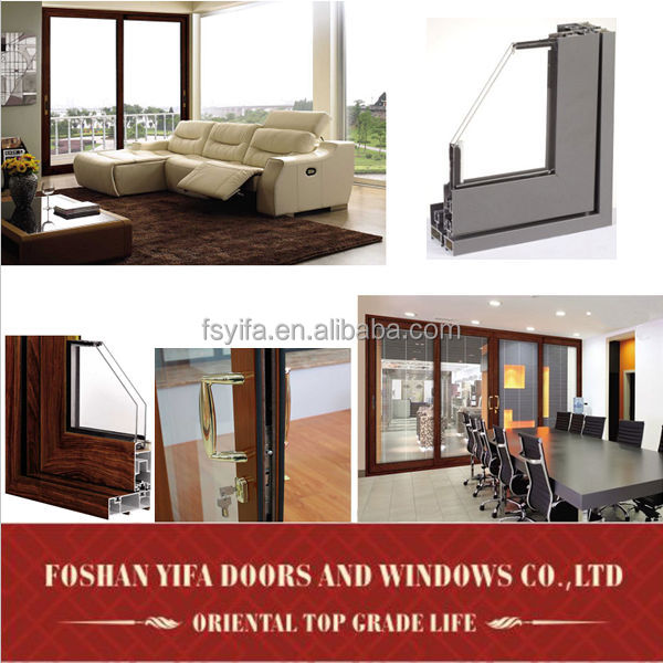 Used standard size pictures aluminum window and door