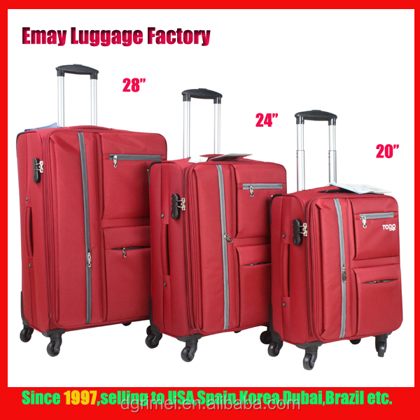 High Quality Nylon Travel trolley Luggage Cases and Bags