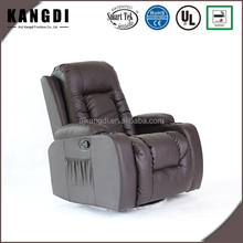 KD-MS7027 360 swivel electric leather rocker massage recliner chairs