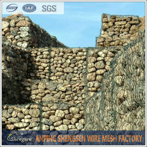 Hot sale electrical galvanized gabion box wire mesh/stone cages