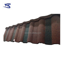 50 years guarantee shingles metal roof tiles malaysia with stone chips coating