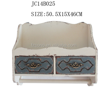 Furniture cabinet wooden Wholesale Prices Antique Wooden Cabinet wall wooden ironing board cabinet design with 2 drawers