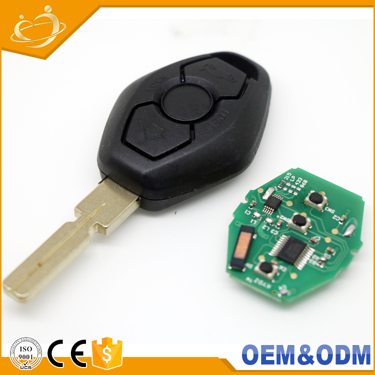 Original key blanks wholesale 3 Button 315Mhz control remote car keys for BMW F10