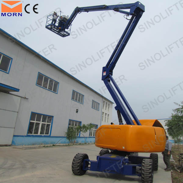 24m hydraulic articulated boom lift for sale
