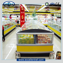 DID2218O1 Supermarket Refrigerator Display Case with Double Cabinet