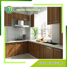 Superior Quality Melamine white kitchen cabinet from china