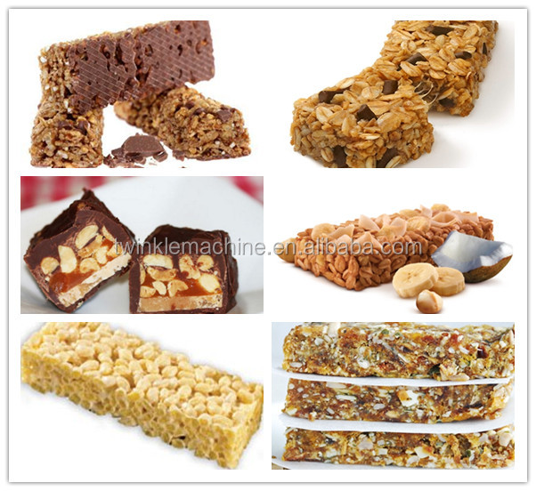 chewy cereal bar production line