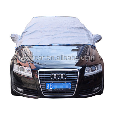 Car Winter Snow Cover Summer Sun Protection Easy Use Windshield Cover