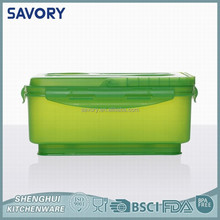 Low price Fresh Keeper Food Storage Plastic fancy salad bowl