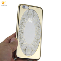 Luxury TPU Mirror Phone Case Shiny