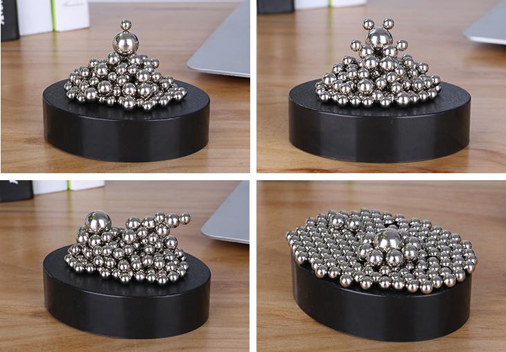 A maior venda quente item de decoração de mesa de escritório acessórios para clientes de alívio de pressão magnética