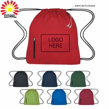 Fashion Reusable Folding Shopping Bags Nylon Drawstring Bag