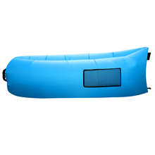 260cm inflatable Lazy sofa beach air lounger bag