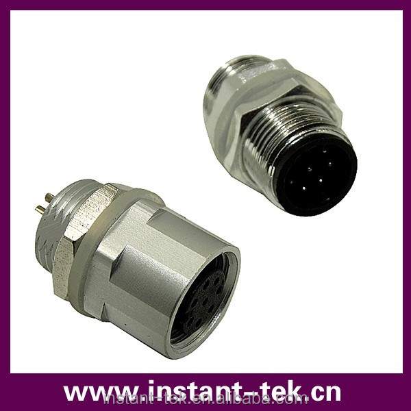 M electrical auto bulkhead waterproof connector