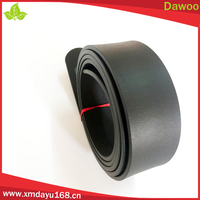Fashion Accessories Black Color Rubber Belts In Stock