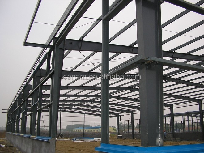 prefabricated steel construction steel structure warehouse