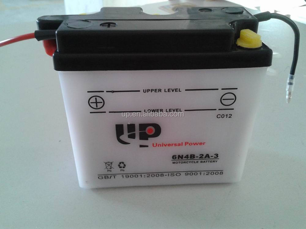 12V3.5Ah Motorcycle Battery YTX4L-B Sealed Maintenance Free