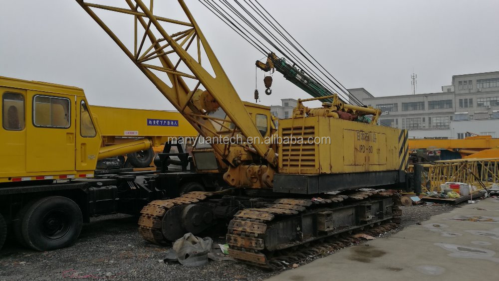 used IHI crawler crane used IHI lattic boom trace crane IHI CCH400 40ton for sale