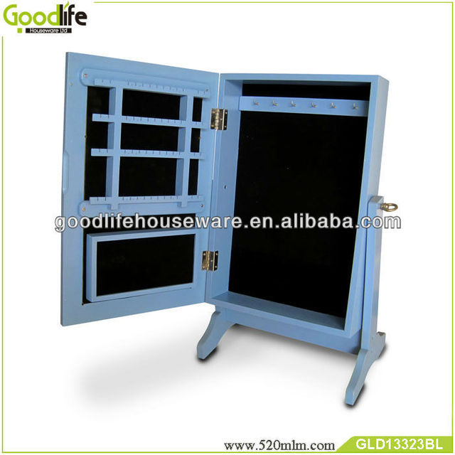Goodlife Blue Version chinese furniture cheval mirror jewelry armoire