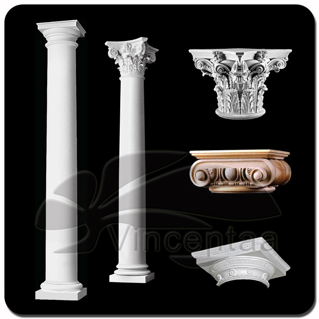 2016 Popular Design Faux Marble Columns with Great Price