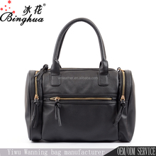 B-918 High Quality Wholesale Fashion Women and Men Small Duffle PU Leather Bags Travel Handbag