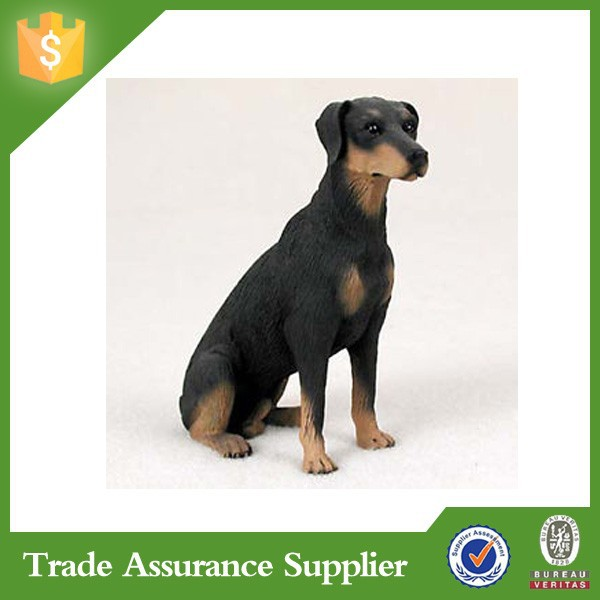 Factory Resin Doberman Dog Statues For Sale