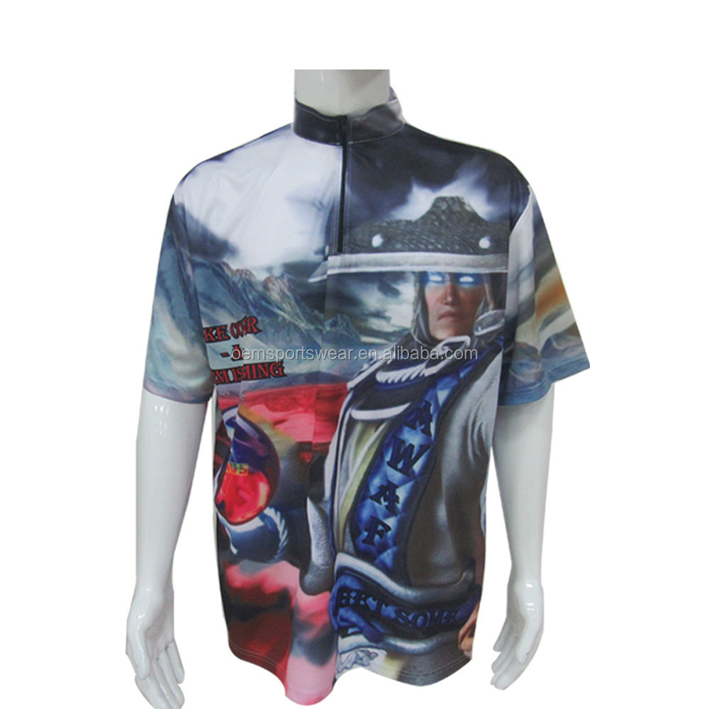 Cheap Sublimated custom printed polo shirt design