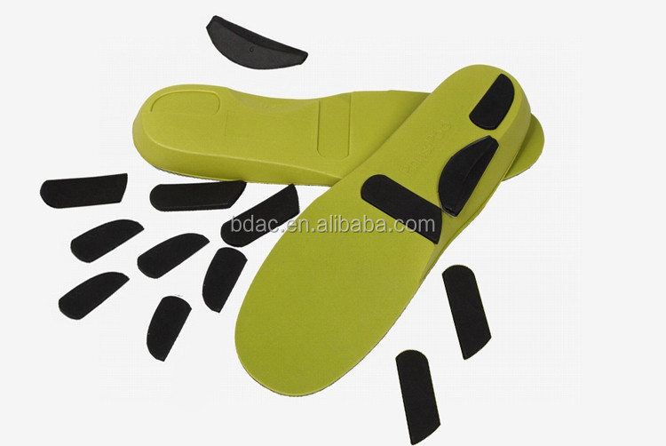 EVA full-length orthotic insole with Inserts