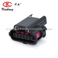 Kinkong 6 Way PA6-GF15 Accelerator Pedal Position Sensor Throttle Pedal Automotive Connector for Audi 1k0 973 706