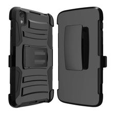 2017 trending products of Super Armor holster Clip case for Alcatel Idol 4 6055/NITRO 4/49 BlackBerry DTEK50