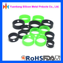 New products free samples soft colored silicone o ring