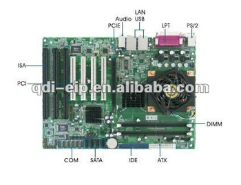 Industrial Motherboard with 3 ISA