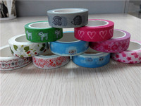 free sample colorful printed safety japanese food washi beautiful tape for paper craft box