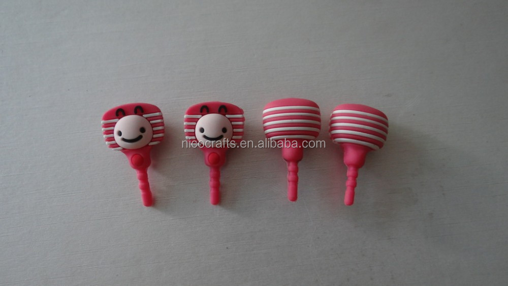 Animal Silicone Earphone stopper For Phone Dust Plug