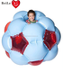 Outdoor play soft toys inflatable giant giga bubble ball for kids