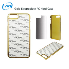 Sublimation heating transfer print pc phone cases blanks for apple iphone