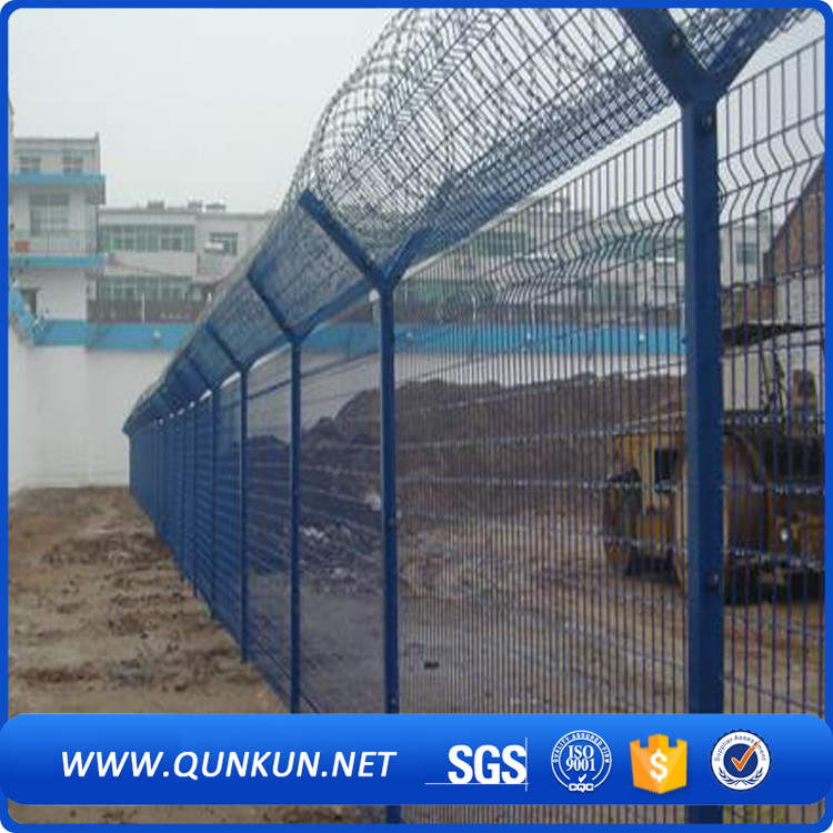 china supplier advanced perimeter systems 358 series mesh fence