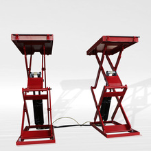 Direct Factory High Quality CE ISO Hydraulic Tilting Mobile Scissor Car Lift Design For Car Wash